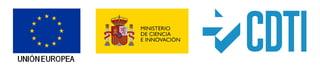 """PrProyecto subvencionado por el CDTI y apoyado por el Ministerio de Economía y Competitividad con una ayuda cofinanciada por fondos FEDER a través del """"Programa Operativo de Crecimiento Inteligente 2014-2020"""" y fondos propios del CDTI."""